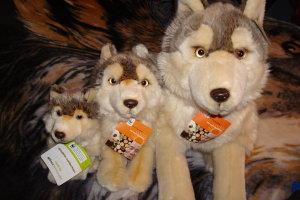 Plush Wolf Whole Family