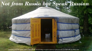 Not From Russia But Speak Russian