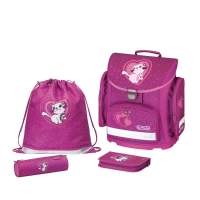 School bag in 2014 comes with a bag for shoes and many otheradditions. http://babypro.com.ua/product_info.php/info/p117454_Ortopedicheskii-shkolnyi-ranec-Herlitz-Midi-Plus-Kitty-Cat.html